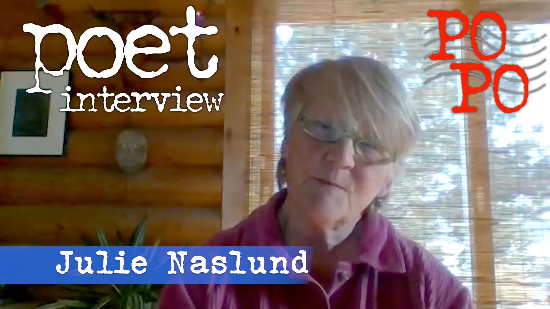 Julie Naslund Poetry Postcard Fest Interview