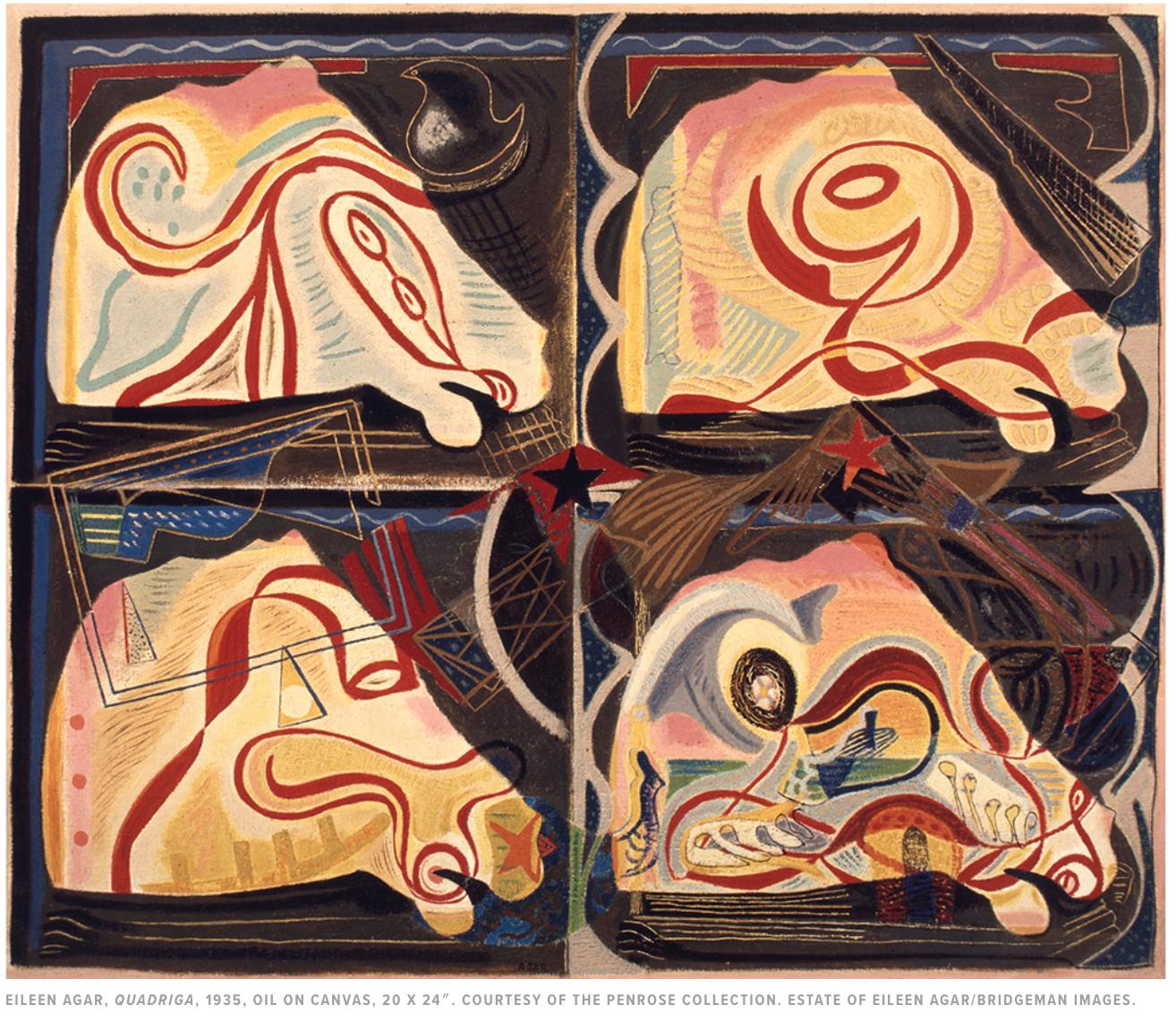 Eileen Agar Collages