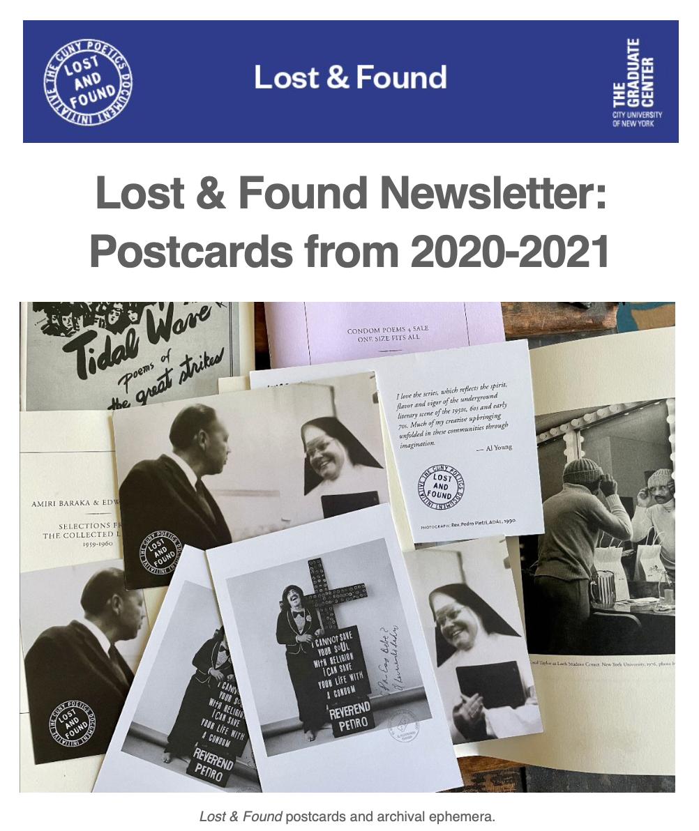 Lost & Found Postcards, di Prima Goodbyes